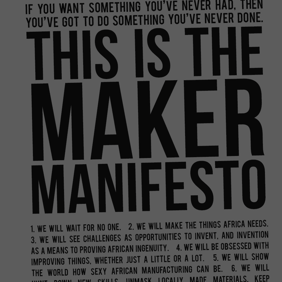 How to Write an Awesome Manifesto