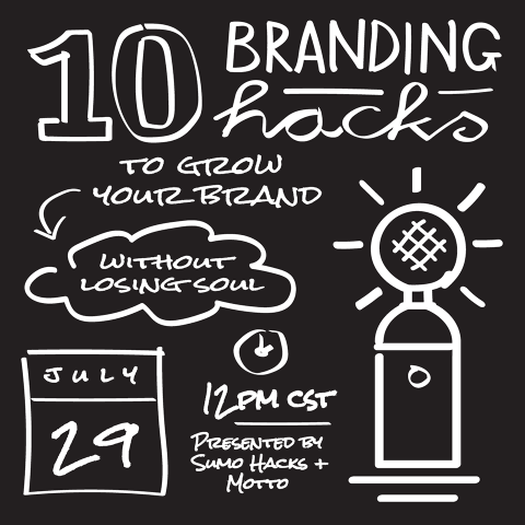 10 Branding Hacks to Grow Your Brand Without Losing Soul [ Free Webinar ]
