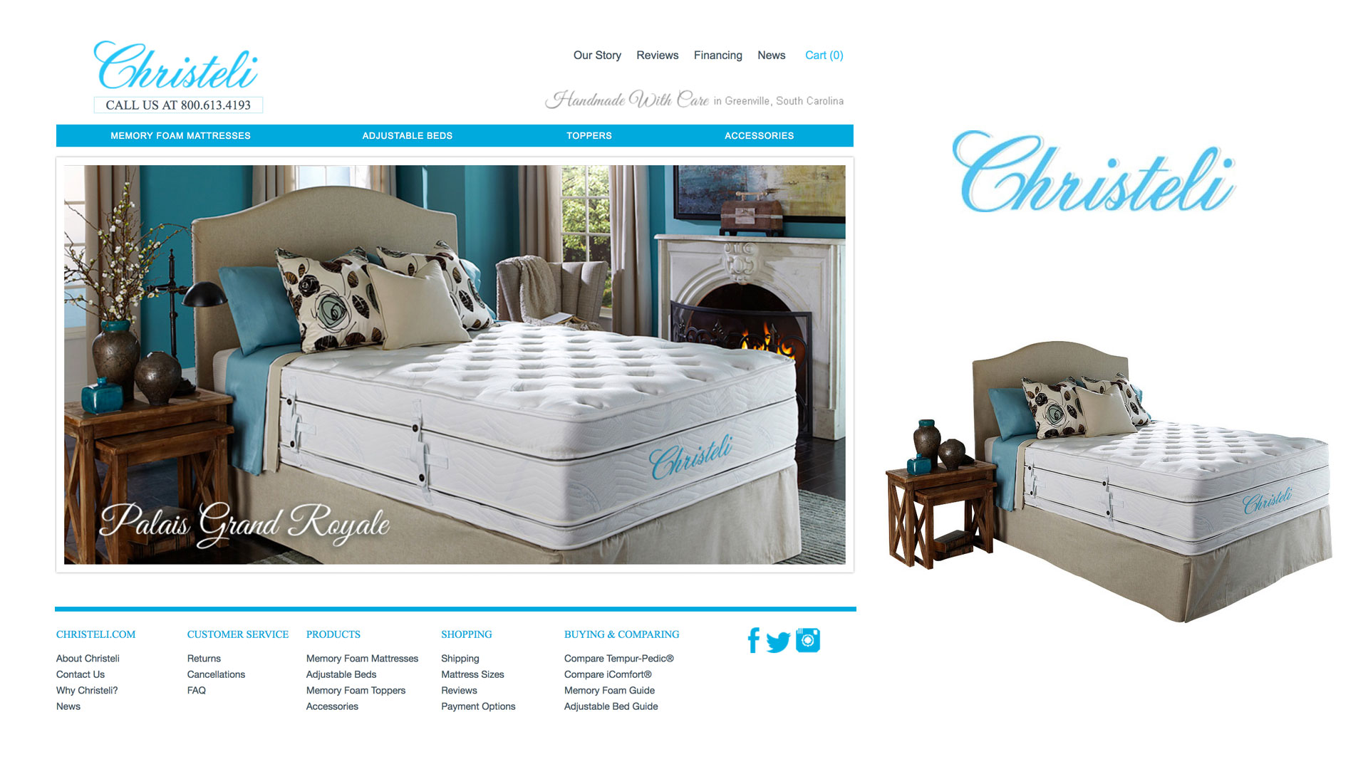 fresh of review vs casper christeli mattress dprf helix best reviews