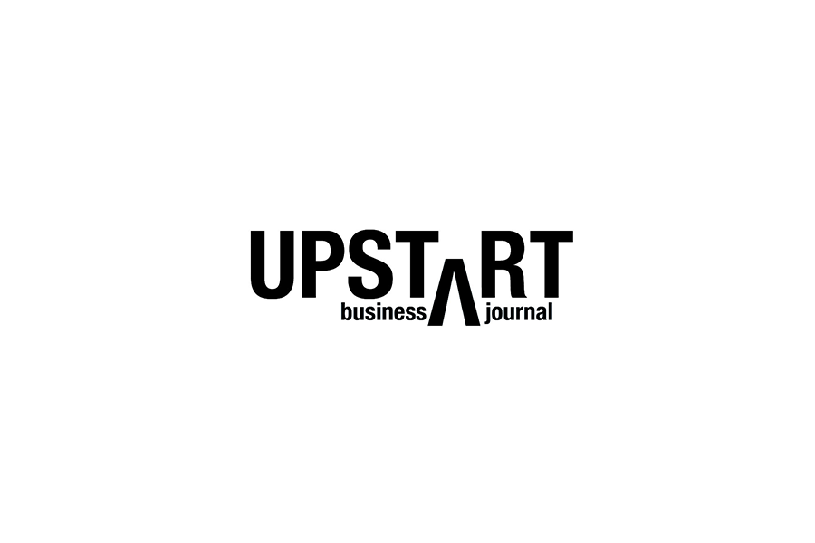 Upstart Business Journal logo