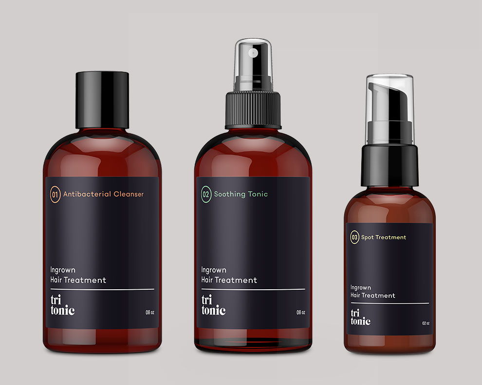 Tritonic bottles by motto